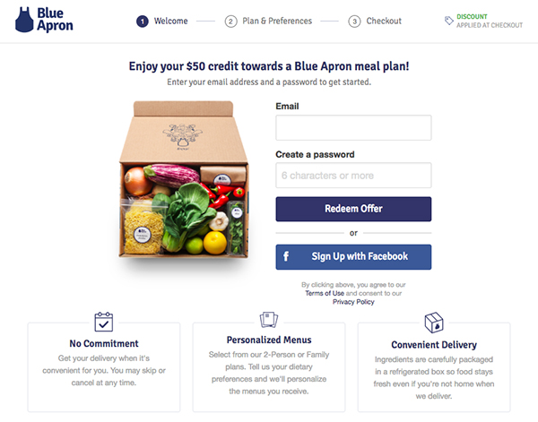 what should i do if i have trouble redeeming my blue apron gift card ...